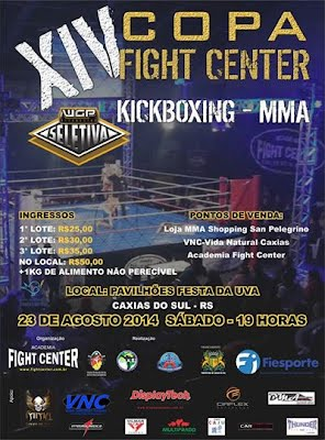 XIV Copa Fight Center